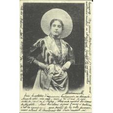 CPA: (REPRO). BOULOGNE-sur-MER, Matelotte, vers 1900.