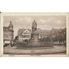 CPA: ALLEMAGNE, COBLENZ, Goeben-Denkmal, jahre1920