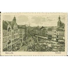 CPA: ALLEMAGNE, BONN a.Rh. Marktplatz, jahre1920