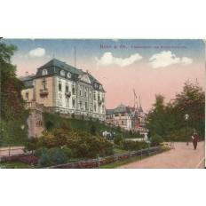 CPA: ALLEMAGNE, BONN a.Rh.Oberbergamt und Rheinpromenade, jahre1920