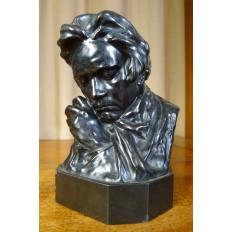 Pierre Félix FIX-MASSEAU (1869-1937), Buste de BEETHOVEN, BRONZE, Fond.COLIN