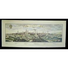 SIENNE (ITALIE), LITHOGRAPHIE, XIXe s.d'après Jeremias WOLFF (1663-1724)