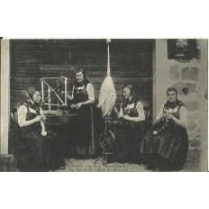CPA: ALLEMAGNE, Trachten aus dem Munsterthal, jahre 1900