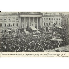 CPA: BELGIQUE, Souvenir du Bapteme de S.A.R. Le Prince Léopold, 1902