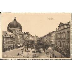 CPA: BELGIQUE, LIEGE, Place du Marché, vers 1930