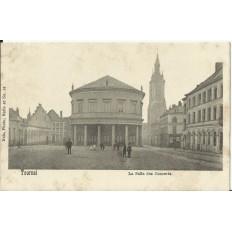 CPA: BELGIQUE, TOURNAI, La Salle des Concerts, vers 1900
