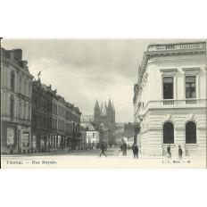 CPA: BELGIQUE, TOURNAI, Rue Royale, vers 1900