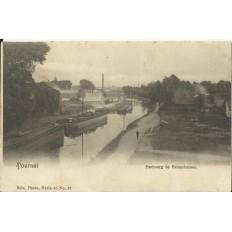 CPA: BELGIQUE, TOURNAI, Faubourg de Valenciennes, vers 1900