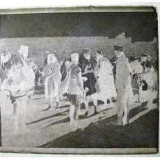 MILITAIRES AVEYRONNAIS 1926 MEKNES, PHOTOGRAPHIE. Dans la rue.