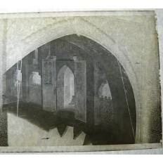 MAROC, MEKNES, PHOTOGRAPHIE / VERRE, 1926. La Mosquée.