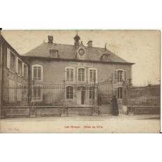 CPA: LES RICEYS, Hotel de Ville, vers 1920