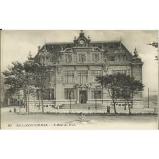 CPA: BOULOGNE-SUR-MER, L'Hotel des Postes, vers 1910