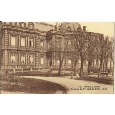 CPA: TOURCOING, Square de l'Hotel de Ville, vers 1900