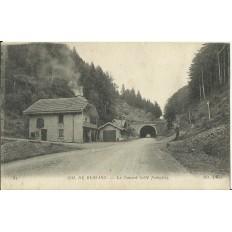 CPA - COL DE BUSSANG, Le Tunnel - Années 1910