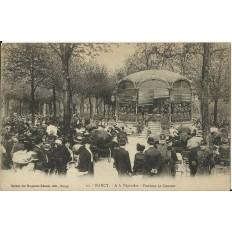 CPA - NANCY, A la Pépinière (concert)- Années 1920