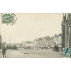 CPA: TOURCOING, Place de la République, années 1900