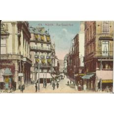 CPA - ROUEN, Rue Grand-Pont - Années 1910