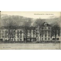 CPA - URIAGE-LES-BAINS, Hotel du Globe - Années 1910