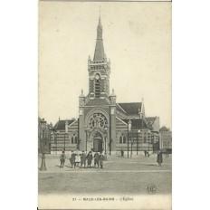 CPA: MALO-les-BAINS, l'Eglise, vers 1900