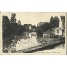 CPA: ALENCON, VUE SUR LE PONT DE SARTHE, vers 1930