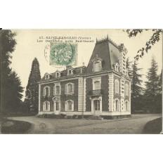 CPA: SAINT-FARGEAU, Les Dalibeaux, vers 1900