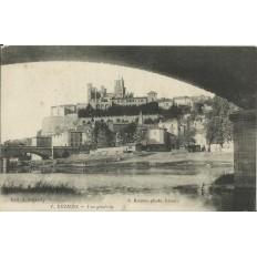 CPA: BEZIERS, Vue Générale, années 1900