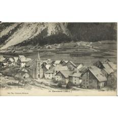 CPA: CERVIERES, Vue Générale, années 1910