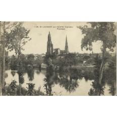 CPA: SAINT-LAURENT-sur-SEVRE, vers 1910