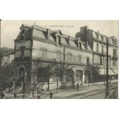 CPA: LONGWY-BAS, La Poste, vers 1910