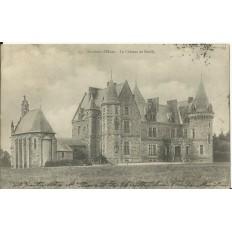 CPA: Environs d'ELVEN, Chateau de Kerfily, vers 1900