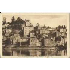 CPA: PUY-L'EVEQUE, Vue Générale et Vieux Port, vers 1920