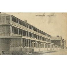 CPA: BERCK-PLAGE, L'Hopital Vincent, vers 1900