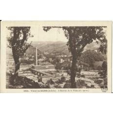 CPA: VALS les BAINS, Entrée de la Ville, vers 1940