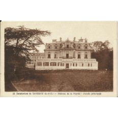CPA: TAVERNY, Sanatorium, Chateau de la Tuyolle, vers 1940