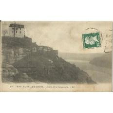 CPA: AIX-les-BAINS, Route de la Chambotte, Années 1920