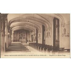 CPA: CONFLANS, Ecole Secondaire Diocésaine Sacré-Coeur, vers 1920