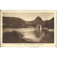 CPA: SAINT-CLAUDE, ETABLES, Le Barrage et le Pain de Sucre, vers 1950