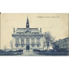 CPA: LE RAINCY, Hotel de Ville, vers 1920