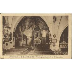 CPA: LUZECH, N-D.de l'Ile, vers 1920