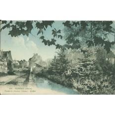 CPA: DORNECY, Fossés de l'Ancien Chateau, vers 1940