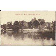 CPA: ROMORANTIN, La Sous-Préfecture et la Sauldre, vers 1910