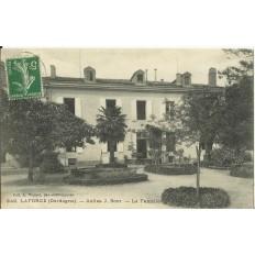 CPA: LAFORCE, Asiles J.Bost, vers 1910
