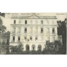 "CPA: HYERES, Villa ""Henri-Joseph"", Bvd d'Orient, vers 1910"