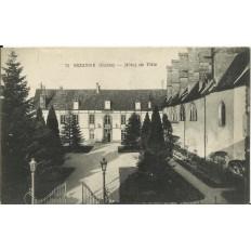 CPA: SEZANNE, Hotel de Ville, vers 1910