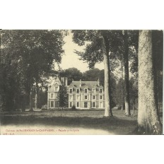 CPA: Chateau de SAINT-GERMAIN-la-CAMPAGNE, vers 1910