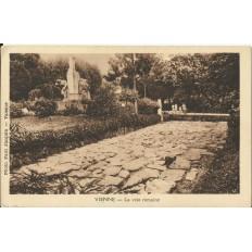 CPA: VIENNE, La Voie Romaine, vers 1920