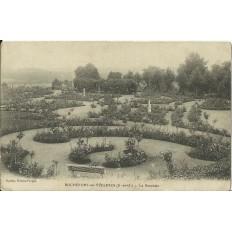 CPA: ROCHEFORT-en-YVELINES, La Roseraie, vers 1910