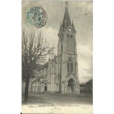 CPA: RAMBOUILLET, l'Eglise Saint-Lubin, vers 1900