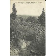 CPA - ST-LEU-LA-FORET, Source Eauriette - Années 1910