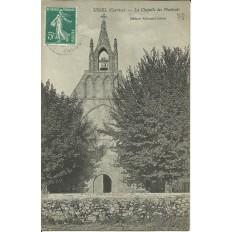 CPA - USSEL, La Chapelle des Pénitents- Années 1900